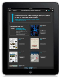 Online App for the Chronicle