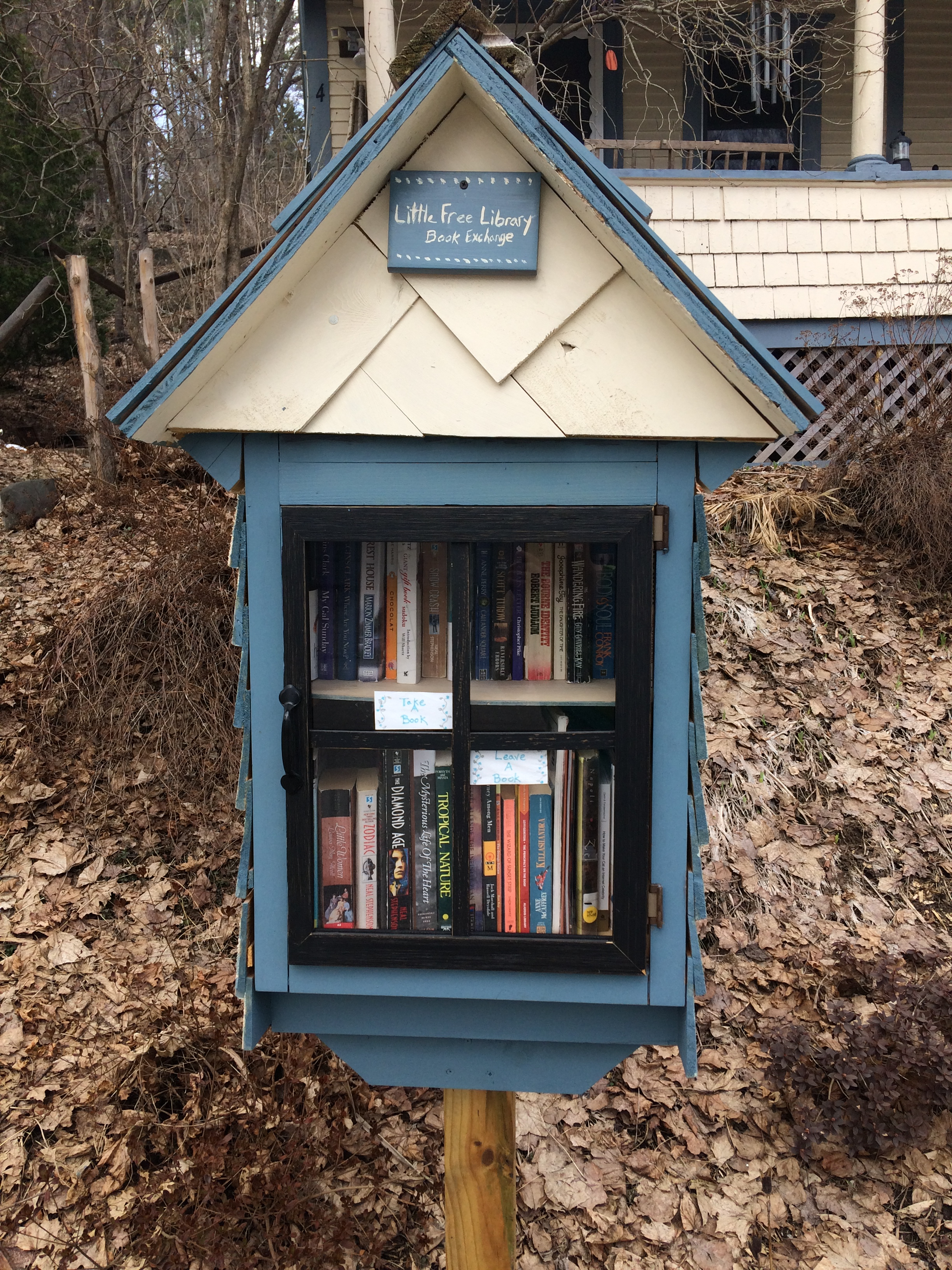 Reference Librarian, Susan Whitehead, Found This Little Free Library In  Montpelier, Vermont