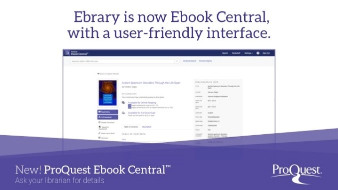 My union library ebrary is now ebook central fandeluxe Choice Image
