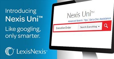 Nexis Uni Promotional Banner
